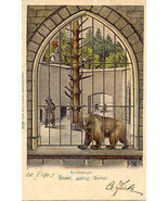 Basel Zoolog Garten Basel Switzerland 1903 Post Card. - $15.00