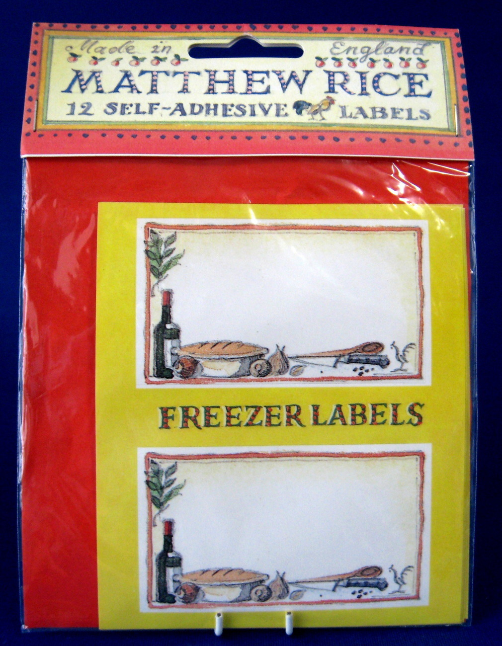 Primary image for Emma Bridgewater Freezer Labels Matthew Rice Self Stick On