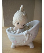 "1985 Precious Moments ""He Cleansed My Soul"" Figurine  - $25.00"