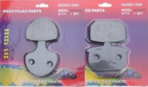 Disc Brake Pads for the Harley FXWG Wide Glide 1984-1986 Front & Rear (2 sets)