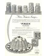 1936 Knox Gelatine Home Preserves print ad - $10.00
