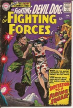 DC Our Fighting Forces #97 Fighting Devil Dog Invitation To A Firing Squad - $9.95