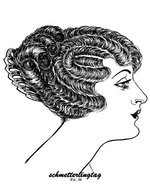 Flapper Era Hairstyle Book LONG & Short Hairstyles How to DIY 1924 Beautician
