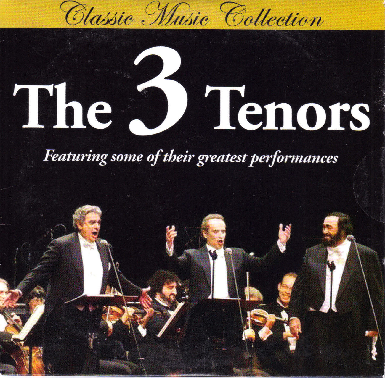 THE 3 TENORS Classic Music Collection CD