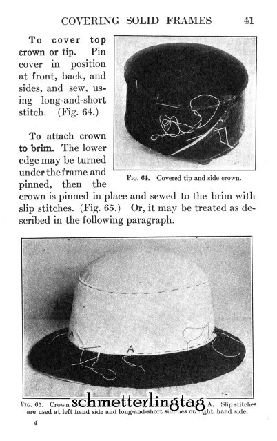 Flapper Era MILLINERY Book Hat Making Make Hats 1926 Roaring 20s Milliner Guide