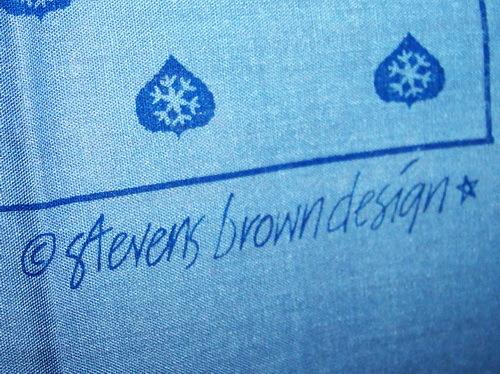 VINTAGE ASPEN SKI KERCHIEF Stevens Brown Design NIP