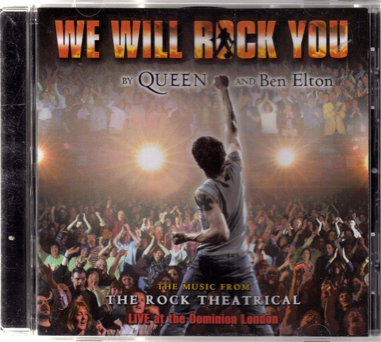 WE WILL ROCK YOU by Queen & Ben Elton Live on  CD