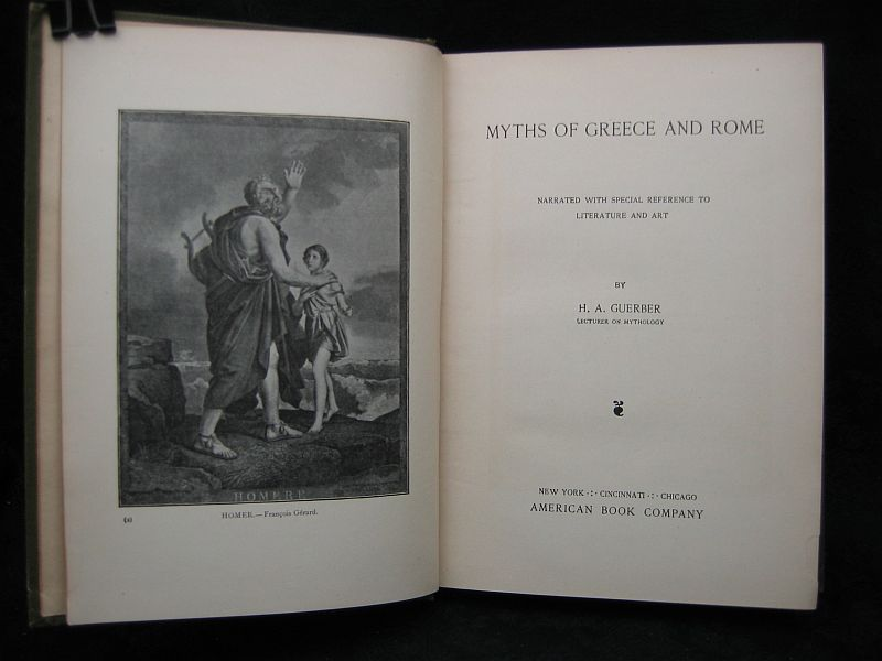 Myths of Greece and Rome by H. A. Guerber