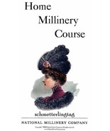 Gibson Girl Era Millinery Book Make Hats Hat Making 1909 Milliner DIY Guide - $12.99