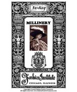 MILLINERY Book Flapper Era Hat Making Make Hats 1928 Milliner DIY Guide ... - $14.99