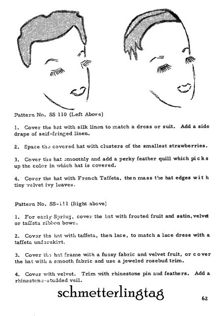 Millinery Book Hat Making Make RETRO Hats How to 1961 Jackie O Era MillinerGuide