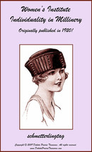 Millinery Book Make Flapper Era Hat Styles Making Hats 1920 Milliner DIY... - $12.99