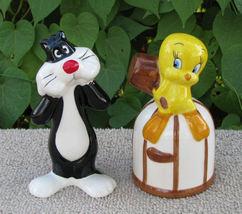 2002 Sylvester and Tweety Salt Pepper Shakers - $16.99