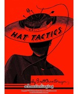 Millinery Book Milliner Lessons HAT TACTICS Making Retro Hats Pattern Gu... - $14.99