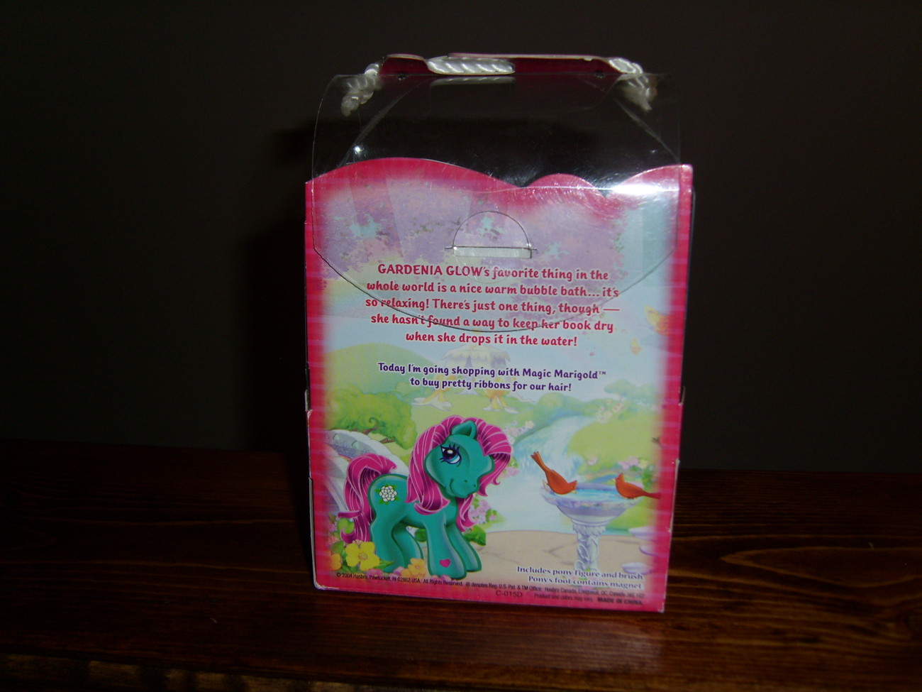 My Little Pony G3 MIB Gardenia Glow