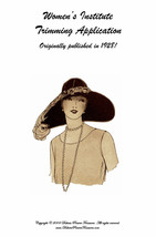 Flapper Era Millinery Book Make Hat Trims Making Trimmed Hats 1928 - $14.99