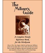 Flapper Era Millinery Book Renovate Repair Modern and Antique Hats DIY M... - $14.99