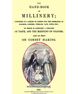 Antebellum Millinery Book Hat Making Make Civil War Hats and Bonnets 1847 - $14.99