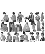 Flapper Depression Era Shawl Shawls Capes Patterns Pattern Book 1931 - $14.99