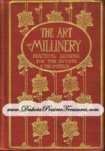 DIY Ewardian Era Millinery Lessons Hat Making Yusuf Make Hats Book 1909 - $16.99