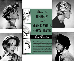 MILLINERY Hat Making Design make Hats TARTAR Book - $14.99