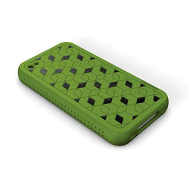 XtremeMac iPhone 4 Green Hybrid Silicone Case
