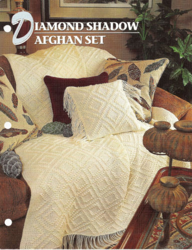 Primary image for Diamond Shadow Afghan Crochet Pattern Annies Crochet Quilt Afghan Club