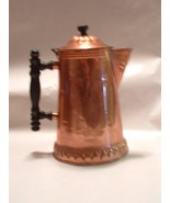 Vintage Antique Copper Teapot Tea Pot Coffee Pot - $85.00