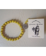 Year of the Monkey Wood Charm Bracelet Chinese ... - $5.00
