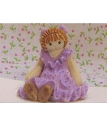 Dollhouse Miniature Toy Rag Doll 1:12 Bonnie Fr... - $13.00