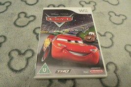 DISNEY PIXAR CARS. GREAT RACING GAME FOR THE NINTENDO Wii COMPLETE FAST ... - $7.44
