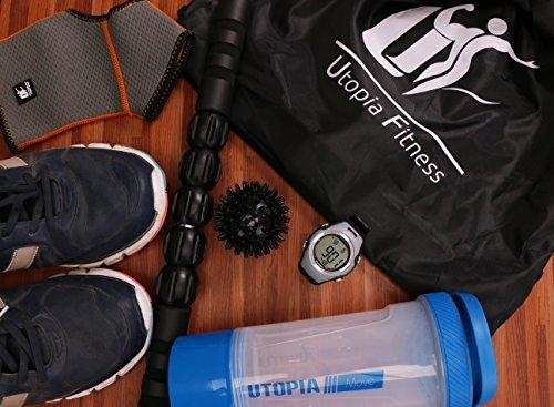 dd2e0b613fe3 ... Utopia Fitness Drawstring Backpack Bag Black - Sport Gym Backpack -  Lightweight ...
