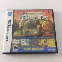Professor Layton and the Diabolical Box (Nintendo DS, 2009) COMPLETE CIB - $10.68