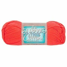 I Love This Cotton Yarn in Coral - Crocheting - Knitting - Crafting