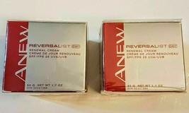 Avon Anew Reversalist DAY Renewal Cream LOT of 2 New Old Stock Moisturizer 1.7 - $29.68