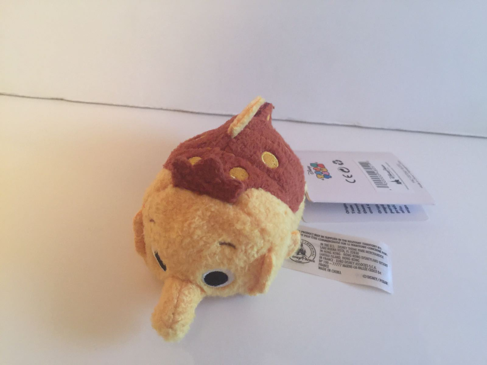 Disney USA Finding Nemo Sheldon Mini Tsum Tsum Plush New with Tag