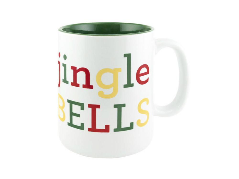About Face Designs Jingle Bells Coffee Mug - $15.95
