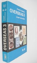 Stanley Gibbons Overseas 3 Stamp Catalogue Catalog Countries K-O 1974 - $9.89