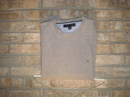 Tommy Hilfiger Sweater Mens Crew Neck Pullover Long Sleeve, Pre-Owned! - $19.79