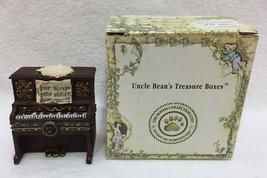 Trinket Box w/ Treasures Grandmas Piano  Maestro McNibble Mouse Boyds Bears - $19.75