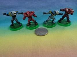 2003 Hasbro Mini Action Figure on Green Base - as is - 4pcs - $2.92