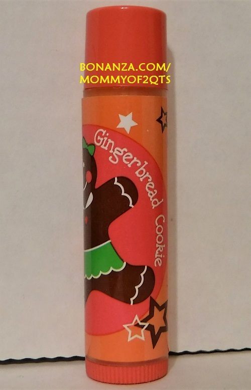 Lip Smacker Christmas GINGERBREAD COOKIE Lip Gloss Balm Sold As Is READ
