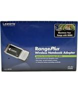 Cisco Linksys Range Plus Wireless Notebook Adapter, WPC100 New Free Ship... - $14.84