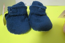 Swiggles Blue Cozy Baby Booties With Grippers Size 0-6 Months New W/Tag - $5.50