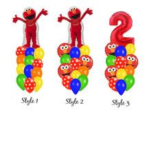 Elmo Party Balloon Bouquet - $18.00