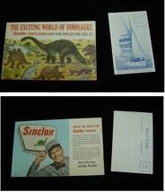 1964 New York World's Fair Sinclair Dinosaurs Wrigley Spearmint Toothpas... - $22.99