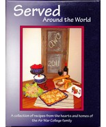 Served Around The World, Military Air War College Family Maxwell AL Cook... - $14.87
