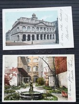 New Orleans Cabildo Audubon UDB Undivided Back 4 Postcards Detroit Publi... - $14.84