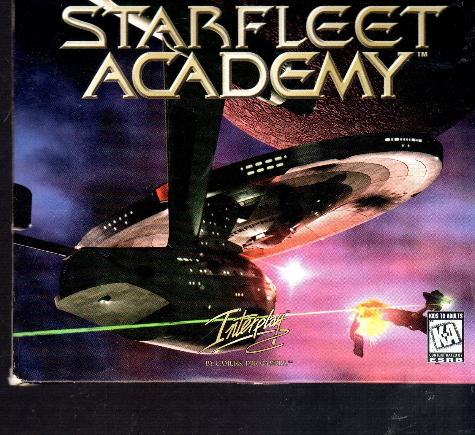 Star Trek - Starfleet Academy - PC Windows Game (Complete 5 Disk)