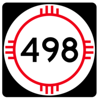 New Mexico State Road 498 Sticker R4193 Highway Sign Road Sign Decal - $1.45+